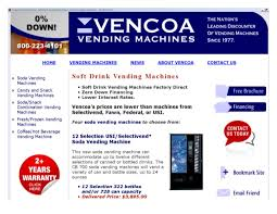 Vending Machine Financing Beauteous Soft Drink Vending Machines