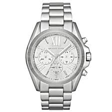 michael kors mk5535 ladies bradshaw silver watch