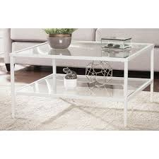 Ivy Bronx Fallis Square Metal/Glass Open Shelf Coffee Table U0026 Reviews    Wayfair