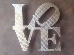 philadelphia love sign wall art