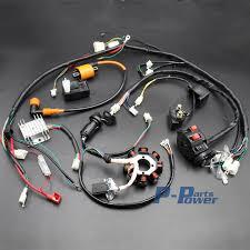 250cc 300cc wiring harness wiring diagram complete electrics atv quad 150cc 200cc 250cc 300cc 3 holes stator 250cc 300cc wiring harness