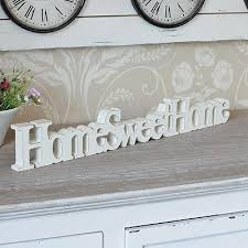 Home Sweet Home Decorative Accessories wooden home sweet home free standing sign plaque home accessory gift 2