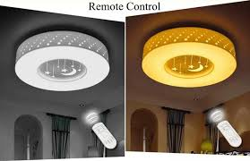 new dimmable 24w 36w 48w led ceiling lights remote control home