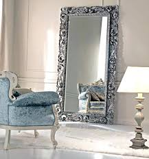 silver floor mirror. Unique Mirror Large Silver Framed Mirror Collection Floor Time To  Paint My In S