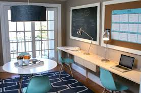 image cool home office. Unique Image Cool Home Office Ideas View In Gallery Molded Plastic Chairs Blue Add  Accent Color In Image Cool Home Office