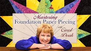 Mastering Foundation Paper Piecing Quilting Class | Craftsy & Preview. Preview. Paper-piecing ... Adamdwight.com
