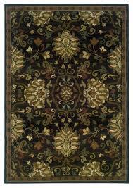 oriental weavers hudson brown beige oriental 042g1 area rug traditional area rugs by veloxmart llc