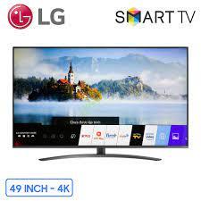 Smart tivi LG 4K 49 inch (49NANO81TNA) NanoCell Chính hãng, Giá rẻ nhất
