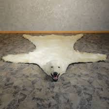 polar bear taxidermy rug 20403 for the taxidermy