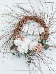 tissue paper fl wreath