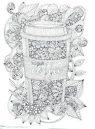 Starbucks Coloring Page 814 Staggering Starbucks Drink Coloring Page