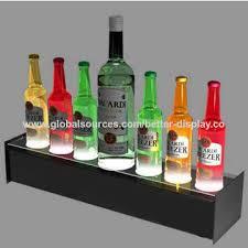 china custom acrylic shot glass display stand shot glass holder tray