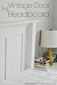 add a bit of farmhouse flair to your bedroom with a diy vine door headboard