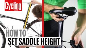 Saddle Height How To Get It Right And Why It S So Important Cycling Weekly