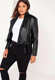 plus size leather jacket with hood biker womens hooded