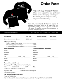 ms word purchase t shirt order form template microsoft word besttemplates123