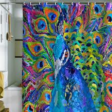 Peacock Inspired Home Decor Very Stylish Peacock Bathroom Decor