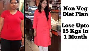 Diet Chart For Vegetarian Weight Loss Non Veg Weight Loss Diet Plan To Lose 10 Kgs In 1 Month