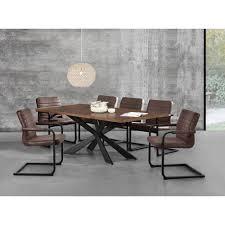 Encasa Esstisch Walnuss Mit 6 Stühlen 200x100 Tisch Stühle