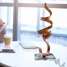 google modern office sculpture. Metal Centerpiece Sculpture, Modern Kitchen, Office \u0026 Patio Decor - Copper Perfect Moment Accent Google Sculpture