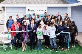 partner homeowner tianna nichole joseph a mother of four attended the ceremony with her two youngest sons carson and kenneth where they received the keys