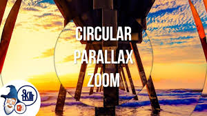 Circular Parallax Zoom Effect In Powerpoint Free Template