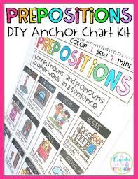 Prepositions Diy Anchor Chart Kit