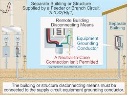code q a grounding and bonding for remote building a grounding electrode isn t required where the building structure is served a 2 wire 3 wire or 4 wire