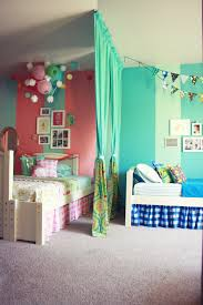 ... Boys Bedroom Interior Decoration Ideas Beautiful Blue Toscatain In  Shared With White Sheet Platform And Flannel ...