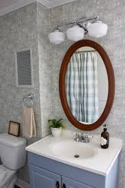 updating bathroom lights with home