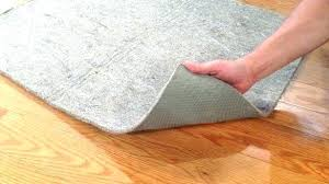 felt carpet pad waterproof natural rubber and felt rug pad fortune natural rubber and felt rug