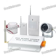 Wireless GSM Anti-Theft Home Security Alarm System w/ Camera