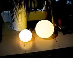 china pe plastic solar pool ball lights outdoor solar ball lights 4 flash modes supplier