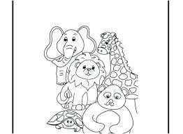 Zoo Animals Coloring Pages For Kindergarten Smithfarmspacom