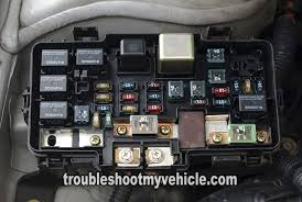 under hood fuse relay box (2001 2004 1 7l honda civic) 2001 Honda Civic Fuse Diagram 2001 2005 honda civic fuse box (1 7l)