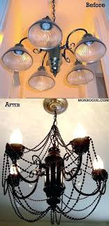 diy brass chandelier makeover the latest a brass chandelier makeover complete with spray paint chandelier s