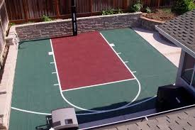 20 x 25 basketball court