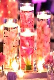 tall glass cylinder glass cylinder centerpieces glass cylinder vase bulk set of 9 custom submerged flower