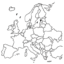 Landen Van Europa Kleurplaat ελλαδα ευρωπη κσμοσ Europa