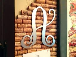 metal letters for wall decor metal letters for wall decor beautiful metal monogram on cork vine monogram on gate painted by customer decorative metal