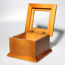 Blank Boxes To Decorate Blank Jewellery Box with Space to Add Glass or Other Decoration 54