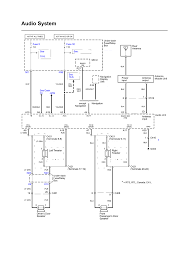 repair guides wiring diagrams wiring diagrams 1 of 5 audio system electrical schematic ex l except navigation 2006