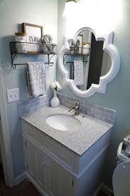 guest bathroom makeover reveal sherwin williams gray farmhouse bathroom ideas modern farmhouse bathroom vanity