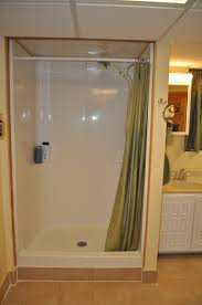 bathroom attractive open shower stall designs inspiration open shower curtain rings