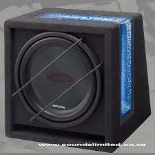 12inch subwoofers alpine sbg 1244br ready to use bass reflex subwoofer