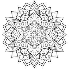 Mandala Coloring Sheets For Adults Sugarbucketinkcom