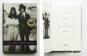 patti smith signed just kids hardcover book
