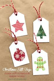 Christmas Gift Tags with Scrapbook paper scraps   Silhouette Project