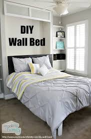 EASY TO BUILD DIY wall bed for $150 - Queen Murphy Bed