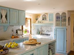 blue country kitchens. Pretty Blue Country Kitchen Kitchens E